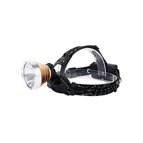 Continuous Scheinwerfer, Nachtangeln Licht Gelb Fackel Super Hell Draussen Wasserdicht Taschenlampe Lange Angebot Laterne Long Service Life (Farbe : Standard Edition)