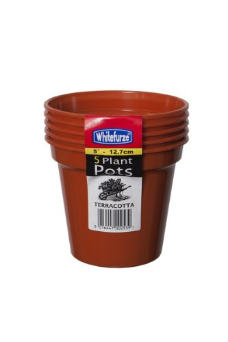 whitefurze-g04016-127cm-garden-pot-terracotta-set-of-5