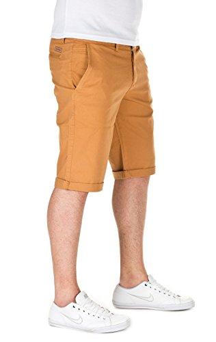 WOTEGA Herren Chino Shorts Bermuda Kallari mustard gold (82295)