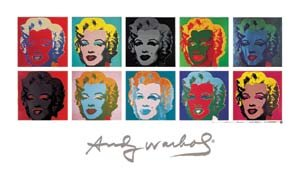 Reproduction / Poster: Andy Warhol