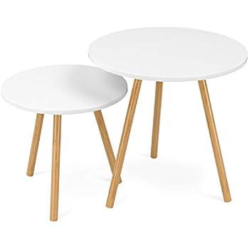 Table lot de gigognes 10020985 2 Relaxdays d'appoint bIvYg6yf7