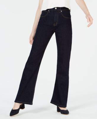 Calvin Klein Jeans Womens 27x30 Bootcut High Rise Jeans Blue 27 - Calvin Klein Bootcut Jeans