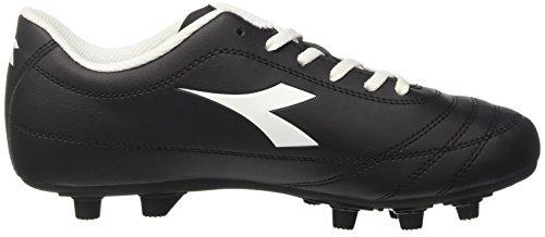 Diadora 650 Iii Mdpu, pour les Chaussures de Formation de Football Homme Noir (Nero/bianco)