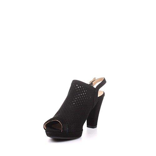 IGI&Co 7757000 Sandalo Tacco Donna Nero
