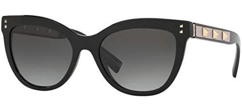 Sonnenbrillen Valentino FREE ROCK STUD VA 4049 BLACK/GREY SHADED Damenbrillen