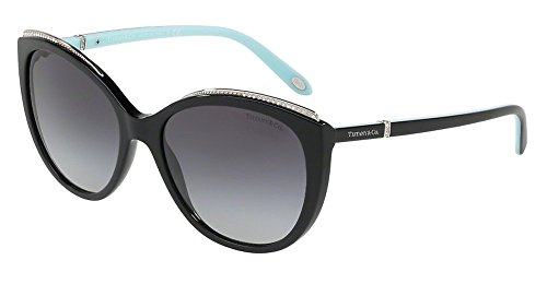 Tiffany & Co. Damen 0TY4134B 80013C 56 Sonnenbrille, Schwarz (Black/Gradient),
