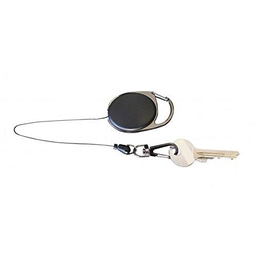 Preisvergleich Produktbild G8DS® Schlüsselrolle Schlüsselanhänger mit Clip und Karabiner 2202