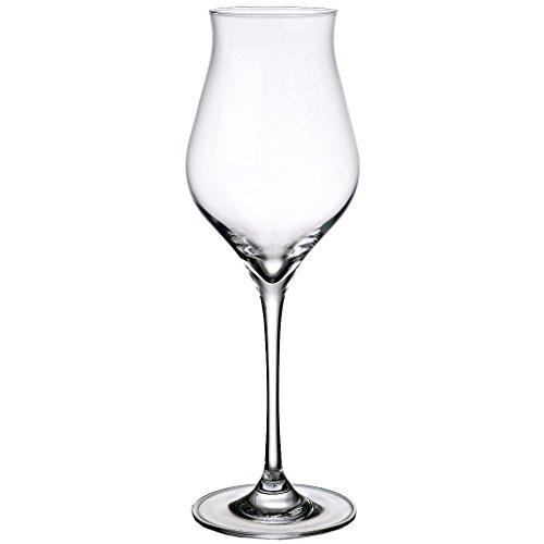Weinglas, Weißweinglas, Weinkelch FLAME 380 ml, H=24 cm, Glas im modernem Style (FAN UNIKATE...