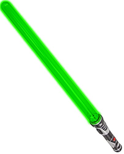 chwert LED Kinder Kostüm Karneval Fasching Halloween Spielzeug Kunststoff Grün 61 cm (Star Wars-sith-halloween-kostüme)