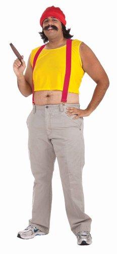 Herren Kostüm Cheech Kiffer Proll Halloween Karneval (Kiffer Kostüm)