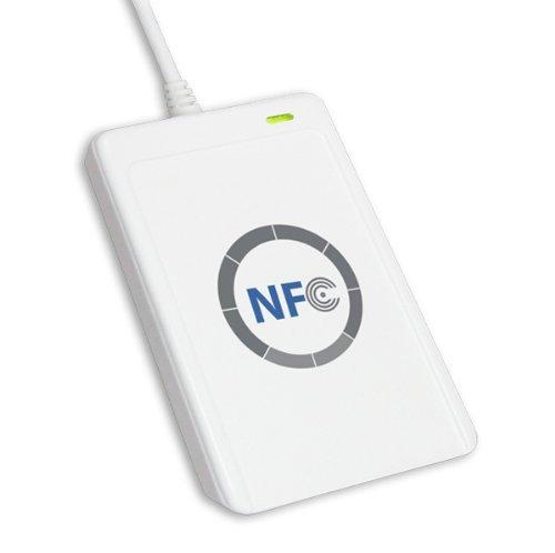 ZJchao NFC Reader / Writer ACR122U ISO 14443A/B +kostenlose Software in Weiß