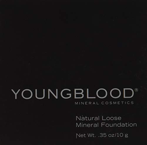 Youngblood, Loose Mineral Foundation, caffè, 10 g (versione inglese)