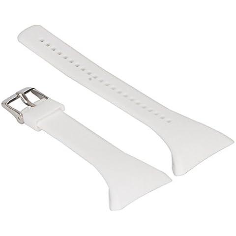 Reemplazo Correa de Reloj Pulsera de Silicona Banda para Polar FT4 FT7 FT Reloj - Blanco