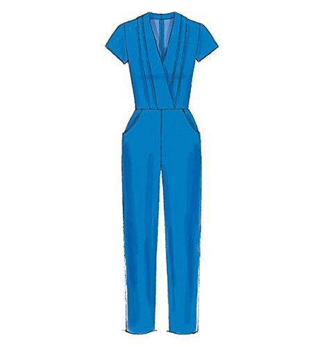 /14 tama/ño A5/6/ MCCALL s patr/ón de Costura para Pelele Jumpsuits y cintur/ón
