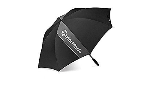 TaylorMade Single Himmel 152,4cm Regenschirm in Schwarz & Grau