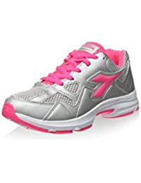 Diadora Zapatillas Shape 5 Jr Plata/Rosa Flúor EU 36.5 (4 UK) uFfnCk12