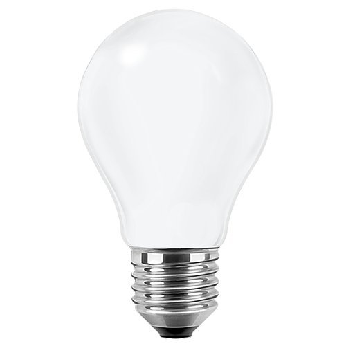 Blulaxa LED Filament Glühfaden Lampe Birnenform RETRO opal, 300°, E27, warmweiß, Glas, 7W EEK: A++