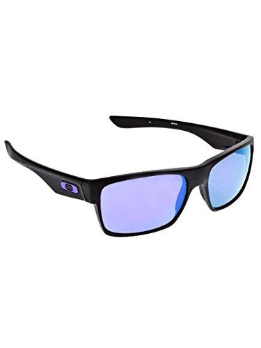 6deadc123e81b3 Oakley - Twoface OO9189 C60 - Lunettes de Soleil Homme, Noir (Violet  Iridium)