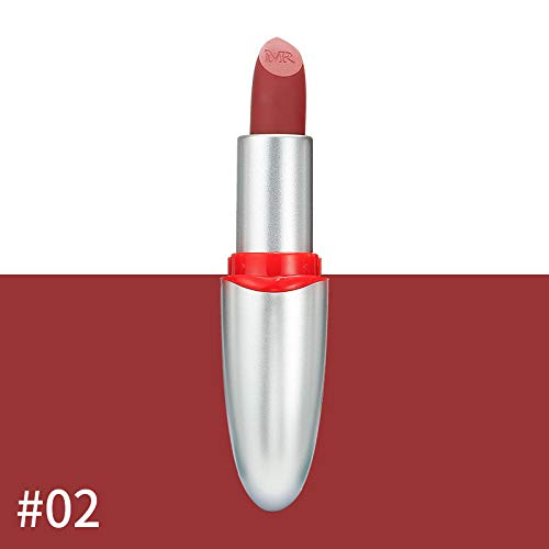 TTLOVE 24 Farbe Lippenstift Lipgloss,Helle Metall Lipgloss Non Stick Cup Lip Glaze Beliebte Runde...