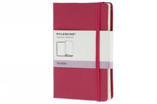 Moleskine Portfolio Notizen-Organizer (Pocket, Fester Einband) magenta (Classic Organizer Pocket)