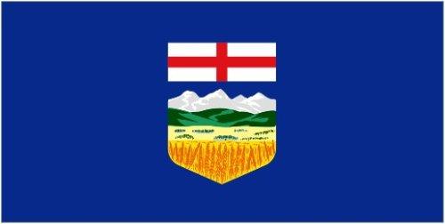 Alberta Flag 5'x3' by Klicnow Alberta Cup