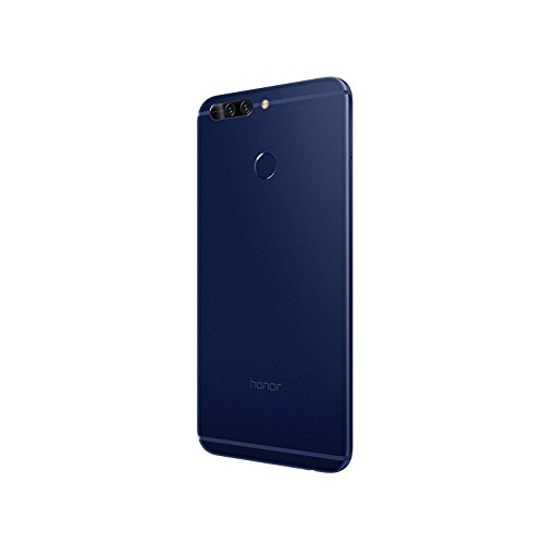 "Honor 8 Pro - Smartphone libre de 5.7"" (6 GB de RAM, 64 GB de memoria interna, Emotion UI5.0 compatible con Android 7.0, Kirn 960 octa core, cámara de 12 MP + 12 MP, frontal 8 MP), color azul"