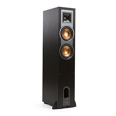 """Klipsch R-26F 100W Black loudspeaker - loudspeakers (Speaker set unit, Floor, 2.54 cm (1""""), 16.5 cm (6.5""""), 100 W, 400 W) al miglior prezzo su Polaris Audio Hi Fi"""