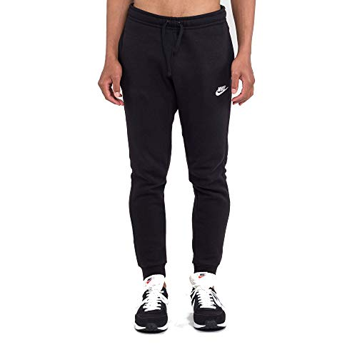 Cuffed Capri Hose (Nike Herren Hose AW77 Cuffed Fleece, schwarz, M, 598871-010)