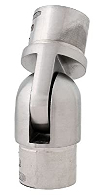 Gelenk Rohrverbinder für Rohr 33,7 x 2,0 mm (S014620) von Edelstahldiscounter bei Du und dein Garten