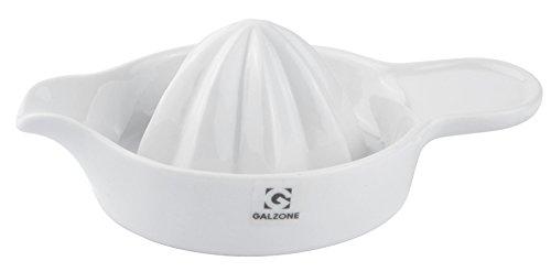 Galzone Zitronenpresse Porzellan weiß