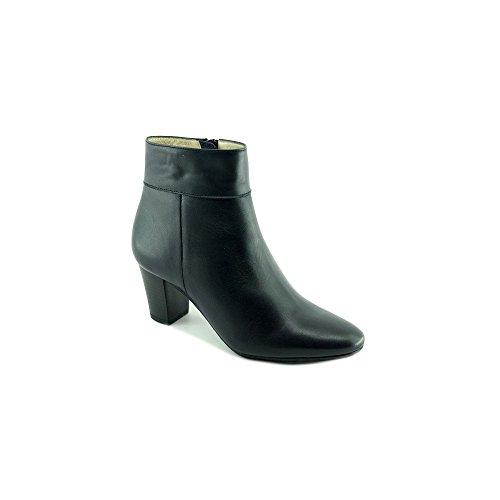 Escarpins d'Hotesses Tarmac Alarm Free Boots Marine Bout Rond en Amande - Petites Et Grandes Pointures