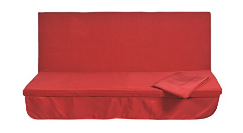 Stiliac 9411t308Set Kissen Notebook, Rot, 150x 55x 6cm
