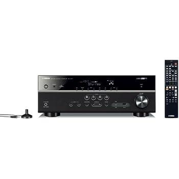 Yamaha RXV477 AV-Receiver (5.1-Kanal, 115 Watt pro Kanal, HDMI, Airplay, Internetradio, USB, DLNA, Dolby TrueHD) schwarz