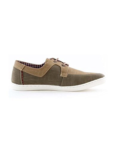 ZY Chaussure Chaussure bateau homme ZY 7626-2 Camel Beige