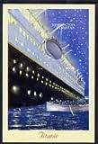Tadjikistan 1999 The Titanic #2 rouletted m/s u/m SHIPS TITANIC DISASTERS JandRStamps