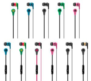skd creation Ak Enterprise Skullcandy S2IKDY-003-Ink'd 2.0 Earbud Headphones With Mic (Black)  available at amazon for Rs.599