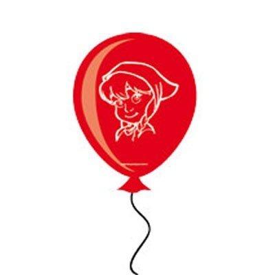 Ballons Latex Märchenbaum Rotk. (FOLAT)