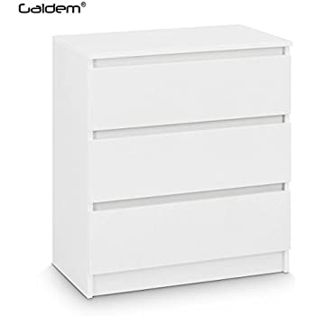 ikea malm kommode mit 2 schubladen wei 40 x 55 cm k che haushalt. Black Bedroom Furniture Sets. Home Design Ideas