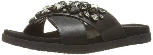 Easy Spirit Marvina Femmes Large Cuir Sandale Black