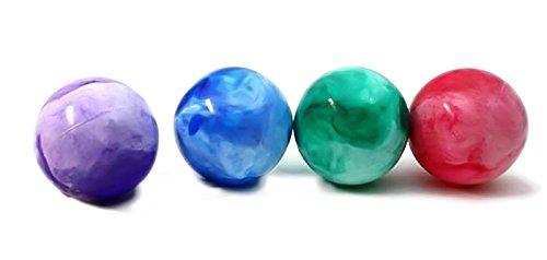 4 x Spielball Spielbälle marmoriert 40 cm Ball Wasserball Strandball Marmor