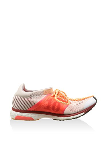 adidas Boostii/Rouge/White, Chaussures Femme Blanc