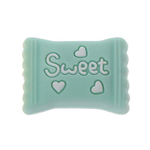 derkrankheiten Perlen Für Halsketten BPA FREI Silikon Beißring Spielzeug Zubehör Pflege DIY ()
