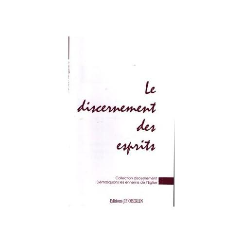 Discernement des esprits (Collection Discernement)