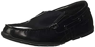 KILLER Men's Black Loafers-6 UK/India (40 EU) (KLMF-1123)
