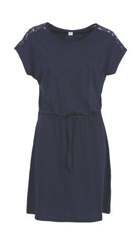 s.Oliver - 14.405.82.4056 - Robe Femme Bleu (eclipse blue 5884)