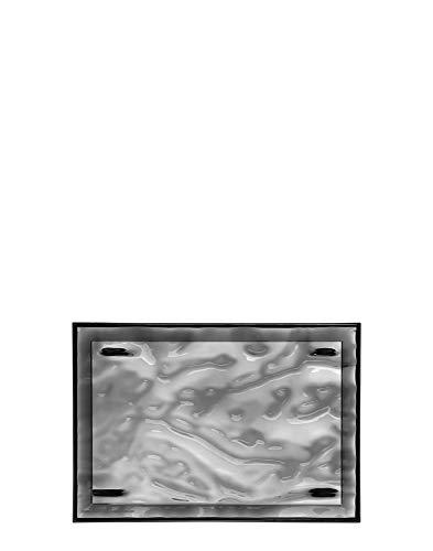 Kartell Plateau Dune Large, Plastique, Smoked, Piccolo