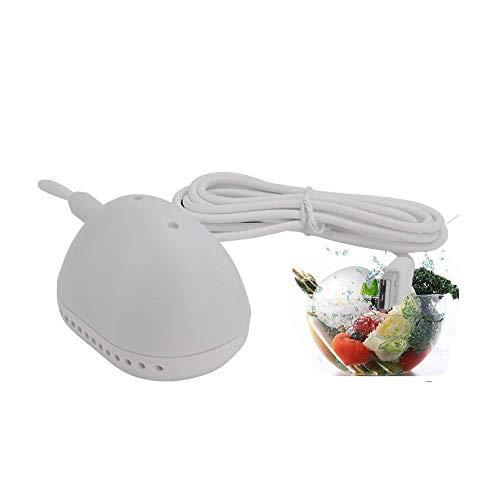 [Zweite Generation] UKSoku Mini Tragbare Ultraschall Automatische Waschmaschine Poröse Wäsche Reinigung Ei Washer Tief Reinigen und Desinfektion für Kleidung Obst Gemüse Reise und Geschäftsreise