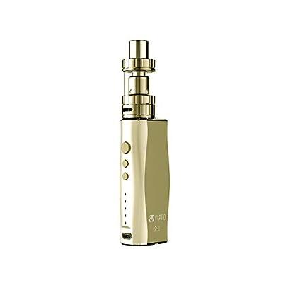 Vaptio P1 TF 50W 2100mAh Electronic Cigarette Starter Kit, No E Liquid No Nicotine (Gold) by Vaptio