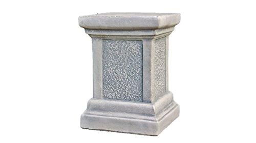 Sockel aus Steinguss, für Amphoren oder Figuren, Gartendeko Frostfest