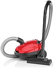 مكنسة كهربائية سلكية من بلاك اند ديكر، 1000 واط، 1 لتر، احمر/اسود - VM1200-B5، ضمان عامان